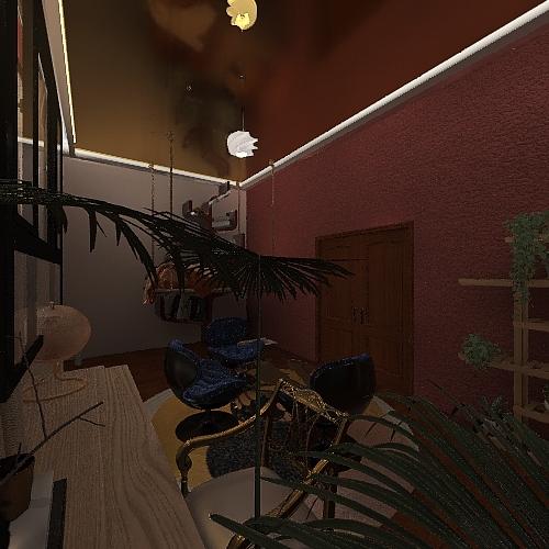 Natalie's room Interior Design Render