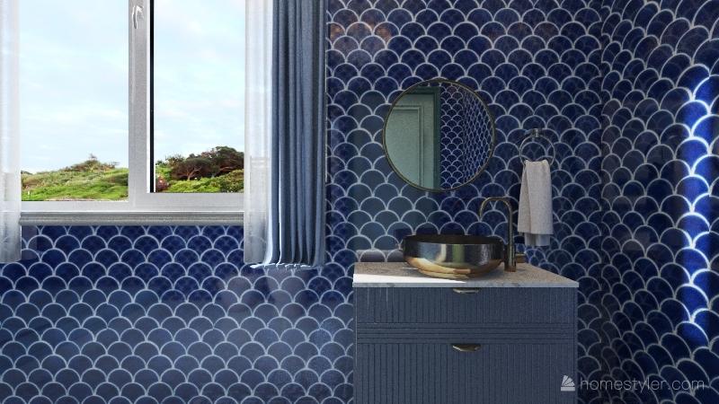 sea house Interior Design Render