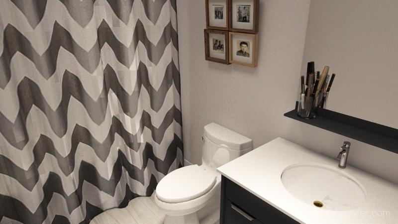 2035 House Interior Design Render