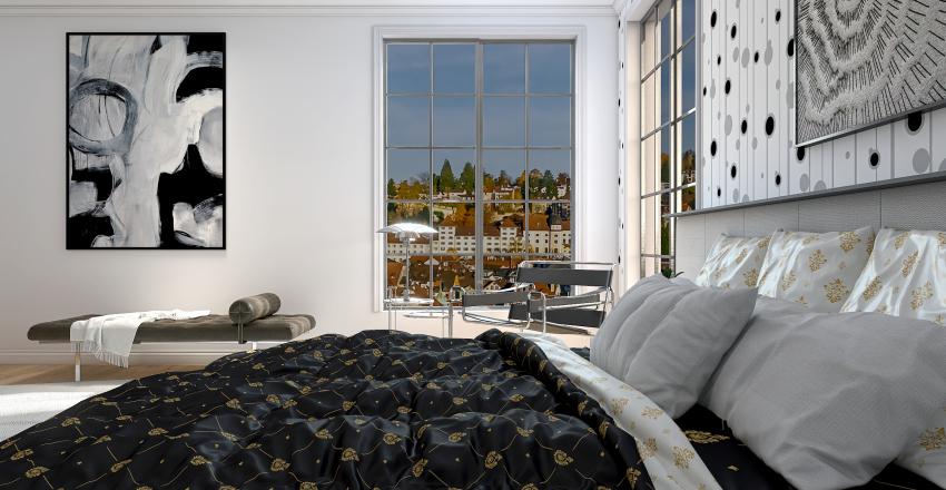 Europe Condo Project Interior Design Render