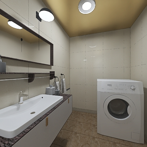 Copy of Квартира №2/1 Interior Design Render