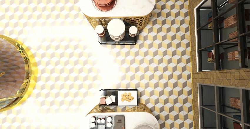 Chocolatt'e de Manila (100 sqm Chocolate/Candy shop) Interior Design Render