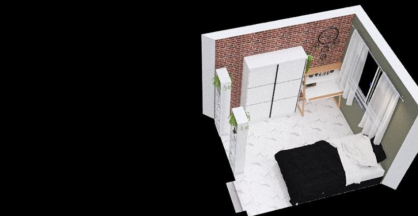 Copy of Meu quarto Interior Design Render