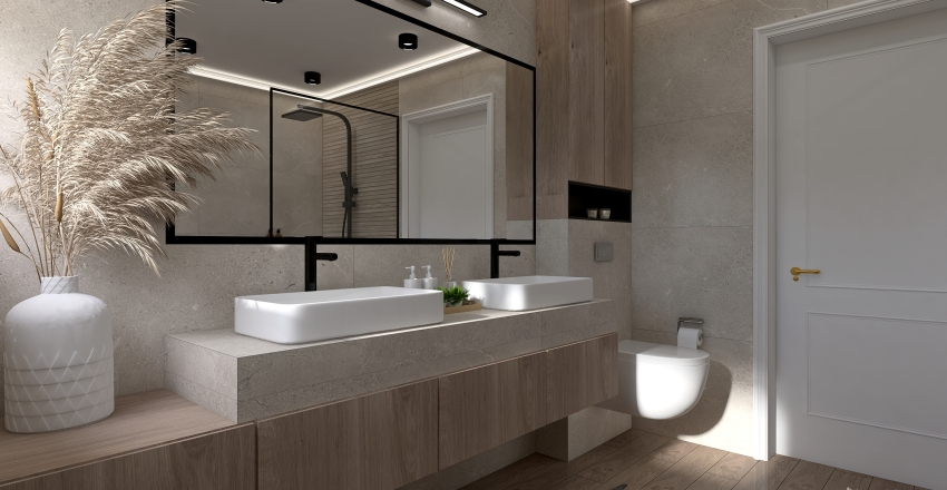 Bathroom spa Interior Design Render
