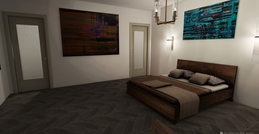 v2_Mod/Pod house Interior Design Render