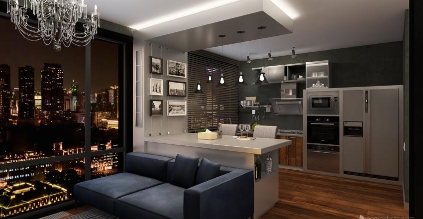 Study Project №2 Interior Design Render
