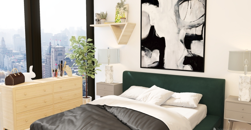 cozyyyy Interior Design Render