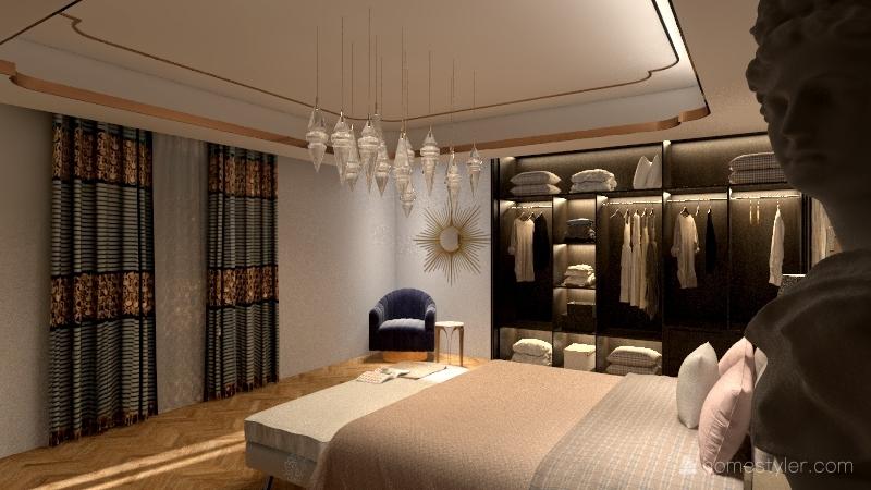 Suite nuptiale Interior Design Render
