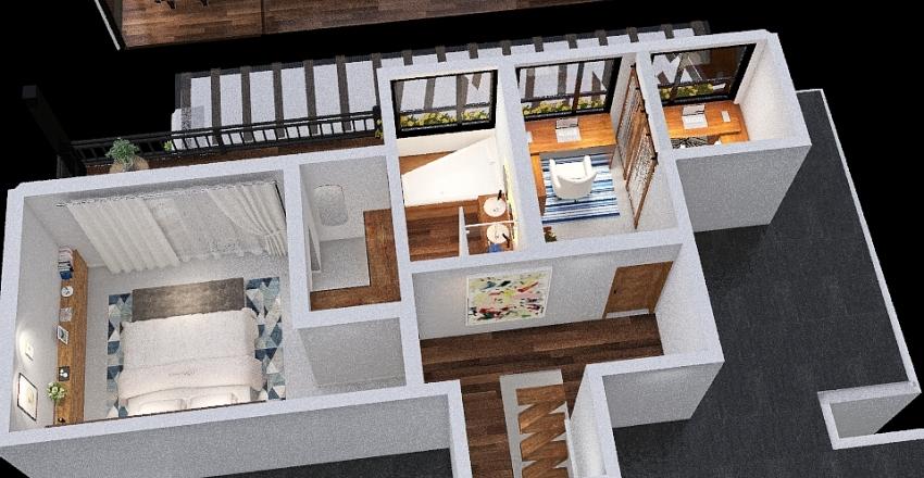 Piracaia Novo Interior Design Render