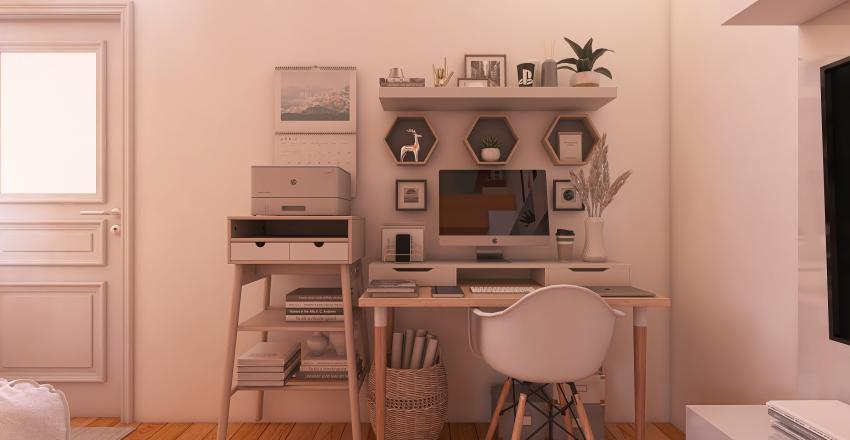 Small Dwelling Interior Design Render