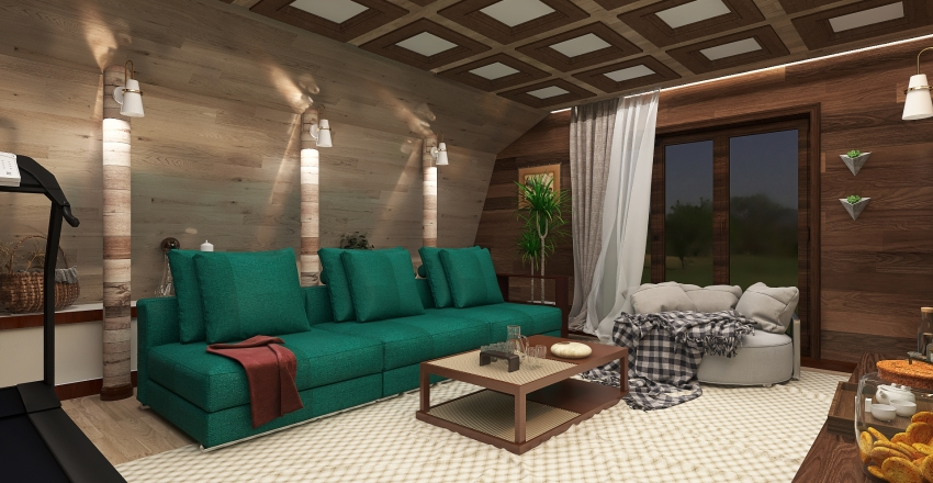 комната отдыха Interior Design Render