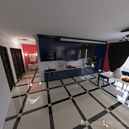 проект дизайн студия Interior Design Render