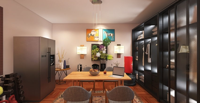 less than 1 hour project Interior Design Render