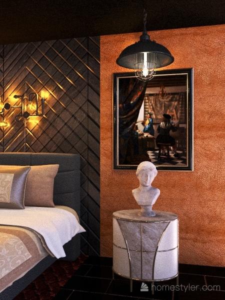 The Lost Bedroom Interior Design Render