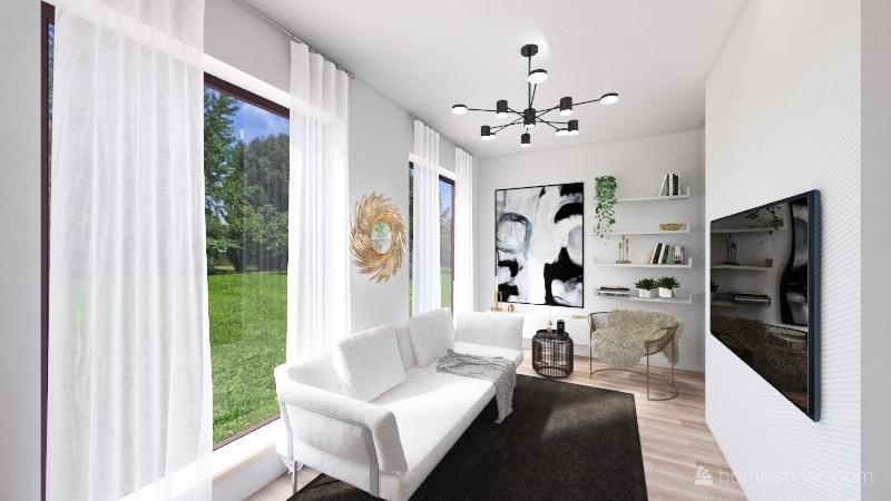 Zeligowskiego 131 Interior Design Render
