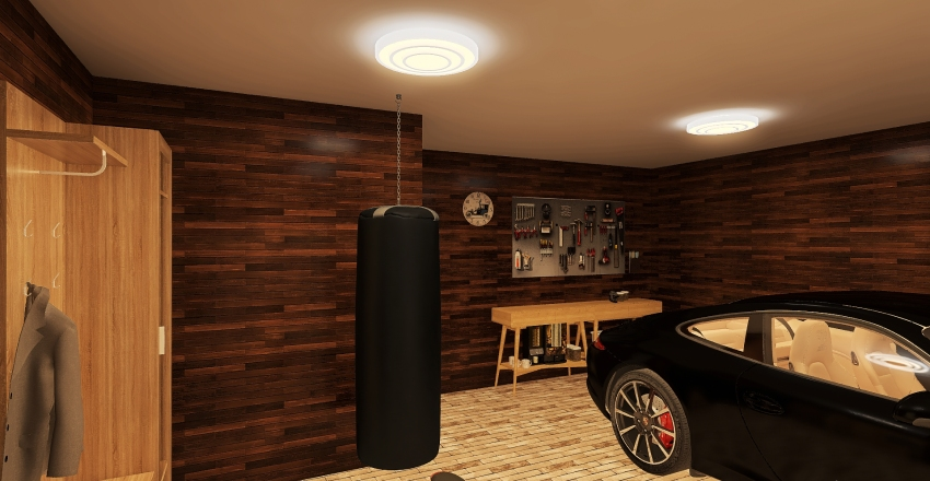 First attempt with new feathures Interior Design Render