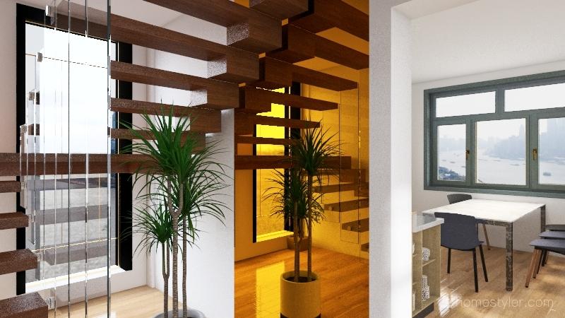 chalet 2 Interior Design Render