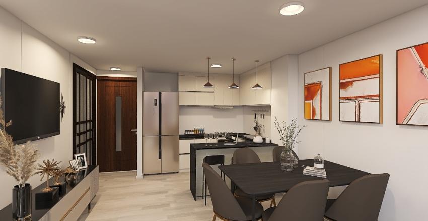 Angeles_DUPLEX2 Interior Design Render