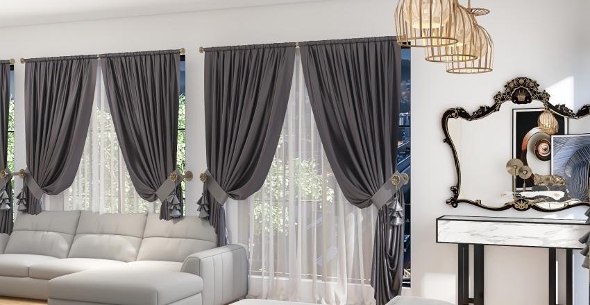 3 story hotel Interior Design Render