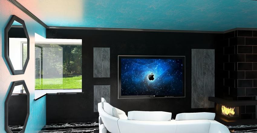 Bachelorette pad Interior Design Render