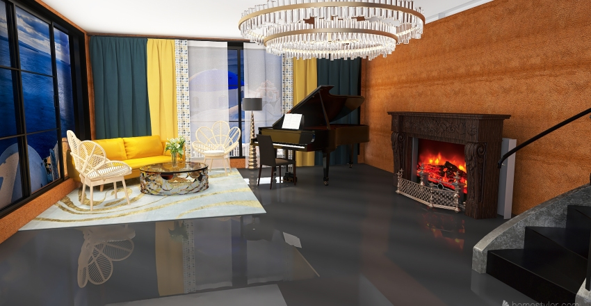 #staem4 Interior Design Render