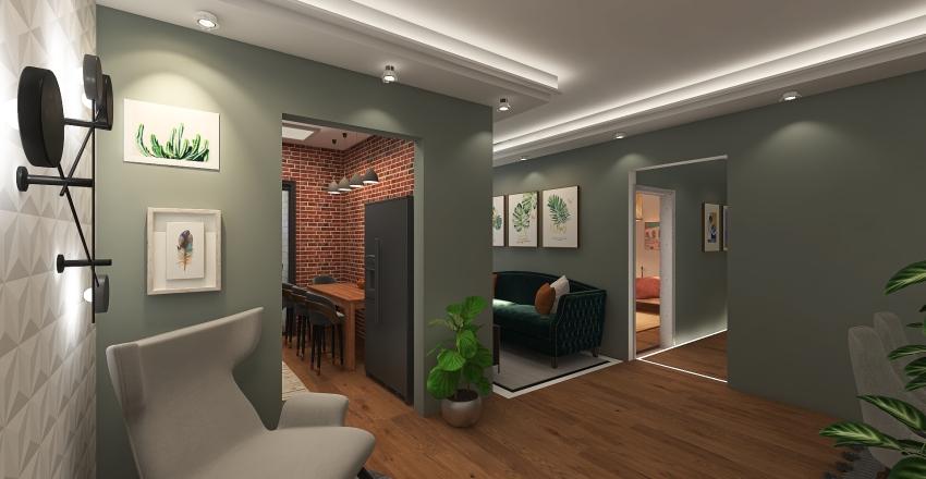 APARTAMENTO GRREN Interior Design Render