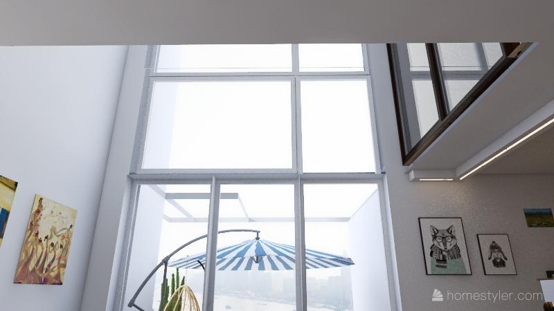 sypialnia_na_dole Interior Design Render