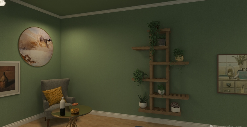Redesigning Room MJS Interior Design Render