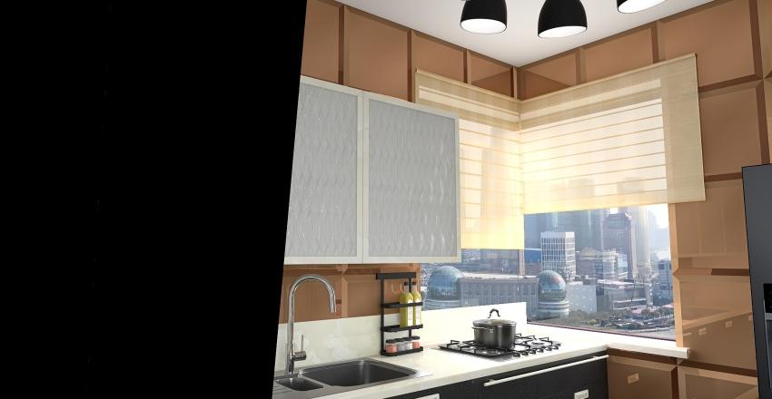 Klasyk w kawalerce Interior Design Render