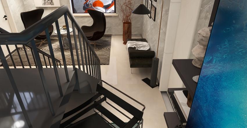 casa dois andares Interior Design Render
