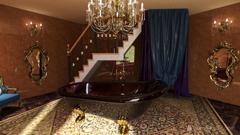 arabian lux Interior Design Render