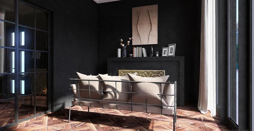 Hey, my lovely peach Interior Design Render