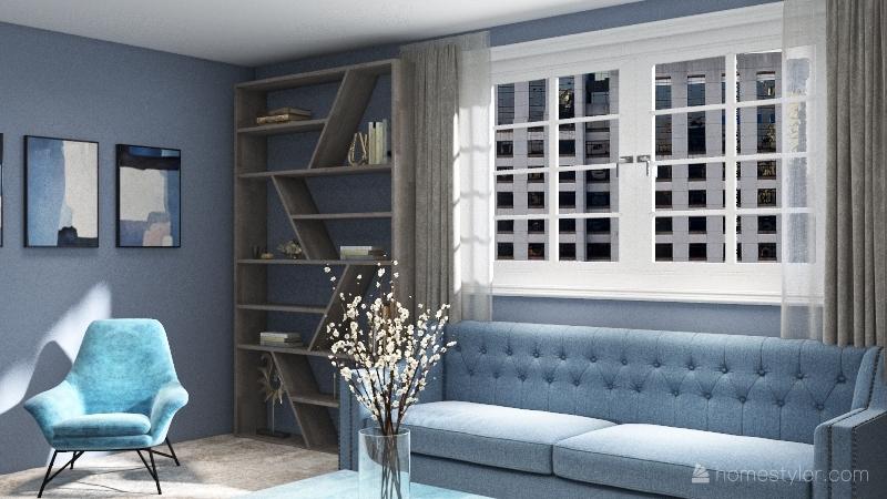 Copy of квартира Interior Design Render