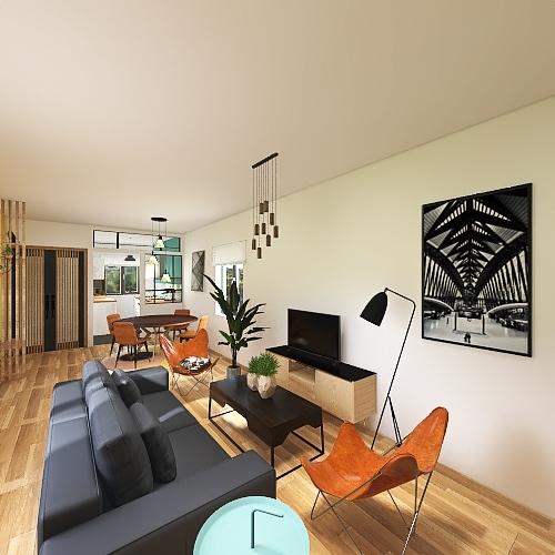 Charline & Benjamin Interior Design Render