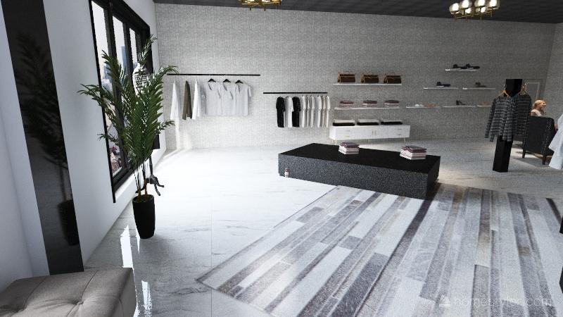 Azure Interior Design Render