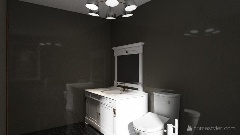 Pat bathroom redesign - Mahoro Audibert Interior Design Render