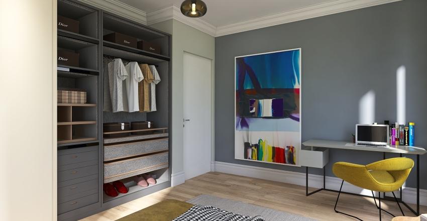 Cozy Family Villa Interior Design Render