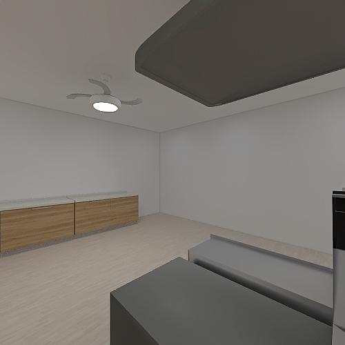 Cocina Interior Design Render