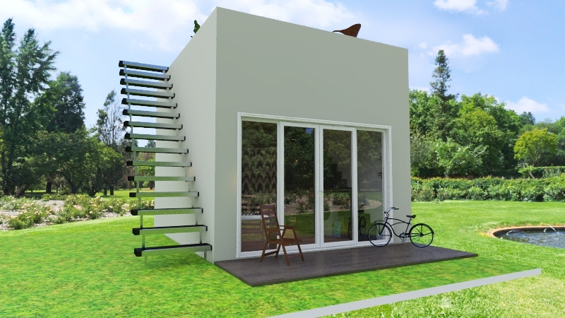 tiny home - amelia Interior Design Render