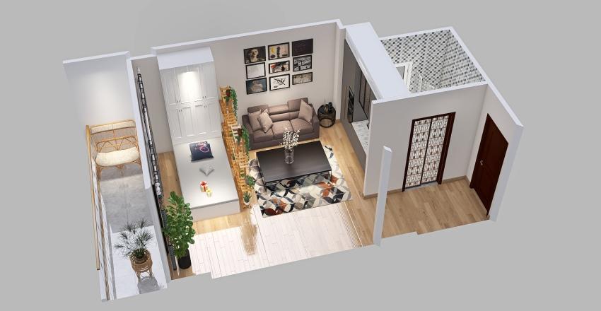 type 1 Interior Design Render