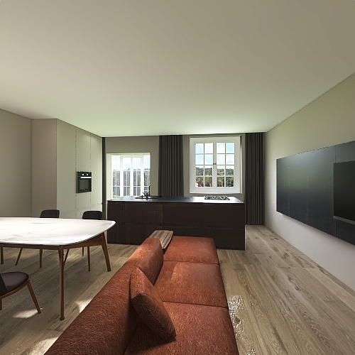 Townhouse v4 Interior Design Render