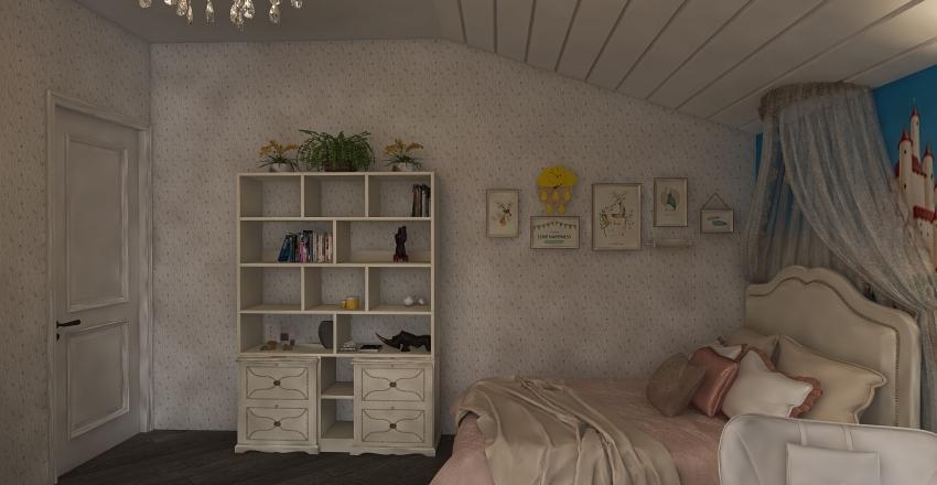 в новом стиле казанцево Interior Design Render