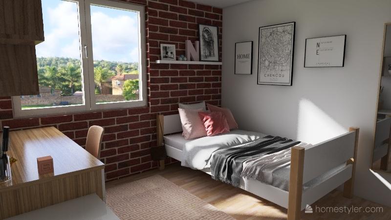 v2_dorm Interior Design Render