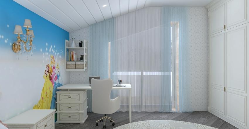 спальня 2 казанцево Interior Design Render