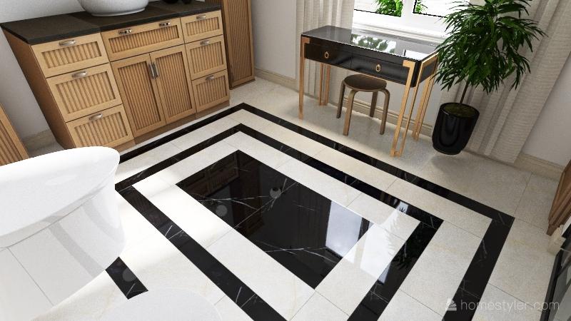 b a t h r o o m Interior Design Render