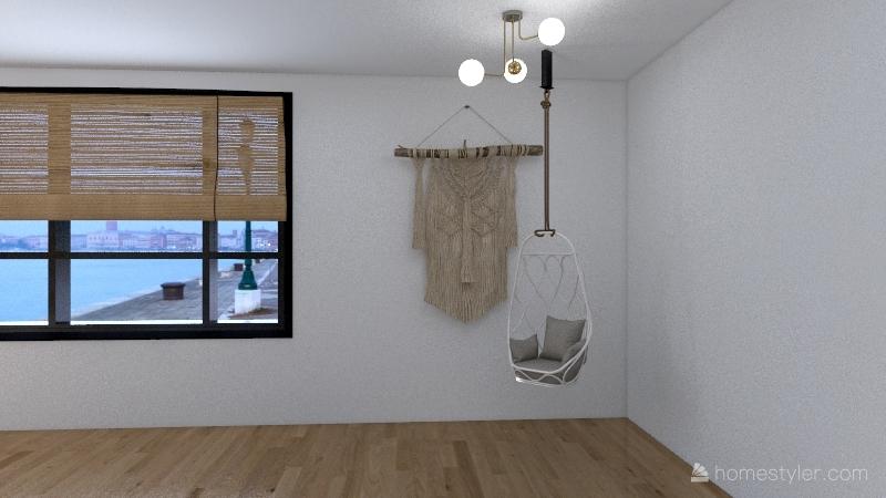 Basement Home Interior Design Render