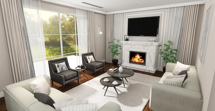 abha-living-modifications Interior Design Render