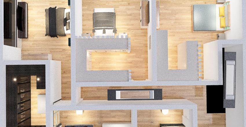 casas de anho a tras Interior Design Render