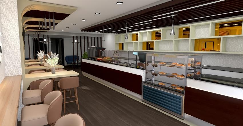 LOKALI TORONTO Interior Design Render