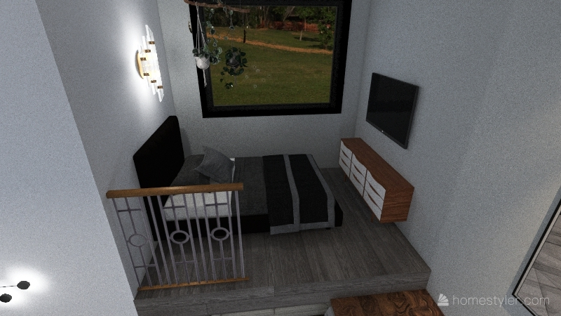 tiny house - ava greving Interior Design Render